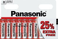 Батарейки Panasonic - Red Zinc АА R6 1.5V 10/120шт