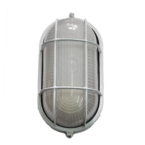 Светодиодный светильник MAGNUM MIF 022 100Вт  под лампу с цоколем Е27 с решеткой белый ЖКХ