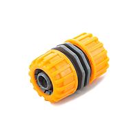 Соединение садовых шлангов 5808: для шлангов диаметром 1/2, оранжевый/ зелёный, 25 шт.