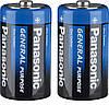 Батарейки Panasonic - General Purpose D R2O 1.5V 2/24/288шт
