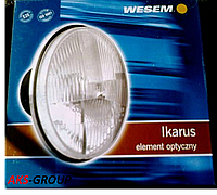 Фара головного света на ВАЗ 2101, 2102, Ниву, КАМАЗ, Ikarus, ЗАЗ, Волгу Wesem RE.12111 диаметр 178