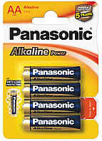 Батарейки Panasonic - Alkaline Power АА LR6 1.5V 4/48/240шт