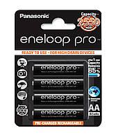 Аккумуляторы Panasonic - Eneloop Pro АА HR6 Ni-MH 2450mAh 1.2V 4/20/200шт