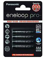 Аккумуляторы Panasonic - Eneloop Pro AAA HR03 Ni-MH 930mAh 1.2V 4/20/200шт