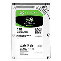 """Жесткий диск 2.5"""" 3Tb Seagate BarraCuda, SATA3, 128Mb, 5400 rpm (ST3000LM024)"""