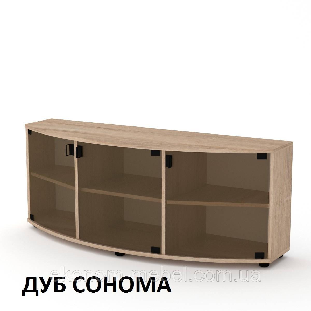 Тумба под телевизор стеклянная Плазма-2 под плазменный телевизор