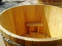 Купель круглаяиз дуба 50мм на 2400 л