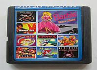 Картридж сборник игр Сега 16 бит AA-91002(русская версия)9 IN 1