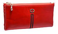 Стильный женский кошелек FW9852 red