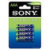Батарейки Sony - Alkaline ААА LR03 1.5V 4/48/240шт
