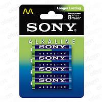 Батарейки Sony - Alkaline АА LR6 1.5V 4/48/192шт