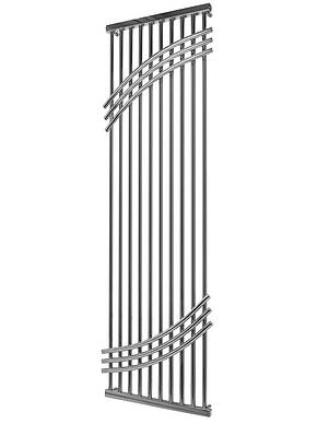 Водяною полотенцесушитель Mario Бордо 1600x500/1570, фото 2