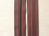 Молния рулонная спиральная YKK, размер № 5, коричневая, артикул СК 5117