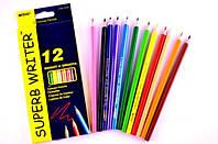 Карандаши цветные MARCO Superb Writer 4100-12СВ  12шт