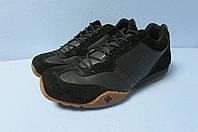 Мужские кроссовки Dr.Martens 48 черные натуральная кожа и замша код 855А