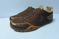 Мужские спортивные туфли Dr.Martens 48 коричневые код 853А
