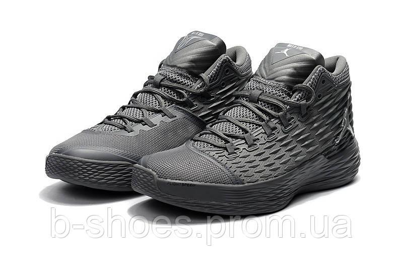Мужские кроссовки Air Jordan Melo 13 (Grey)
