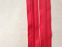 Молния рулонная спиральная YKK, размер № 5, красная, артикул СК 5118