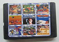Картридж сборник игр Сега 16 бит MA907(русская версия)9 IN 1