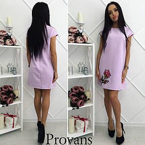 Женское летнее платье с цветком