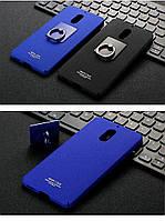 Пластиковый чехол Imak с кольцом-подставкой для Nokia 6 (2 цвета)