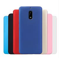 Пластиковый чехол накладка Alisa для Nokia 6  (7 цветов)