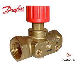 Клапан балансувальний запірний Danfoss ASV-M PN16 DN 15 автоматичний (003L7691)