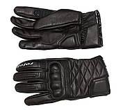 Roleff RO 43 Leather Gloves Black, S Мотоперчатки кожаные, фото 1
