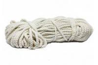 Веревка х\б d-5 100м плетенная