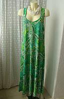 Платье летнее пляжное макси Relaxx р.50-54 7551