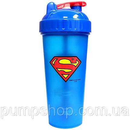 Шейкер PerfectShaker SuperHero Superman 800 мл, фото 2