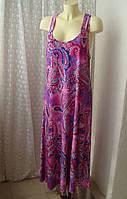 Платье летнее пляжное макси Relaxx р.50-54 7553