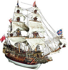 Корабль «Повелитель Морей» (ДеАгостини) 1:84