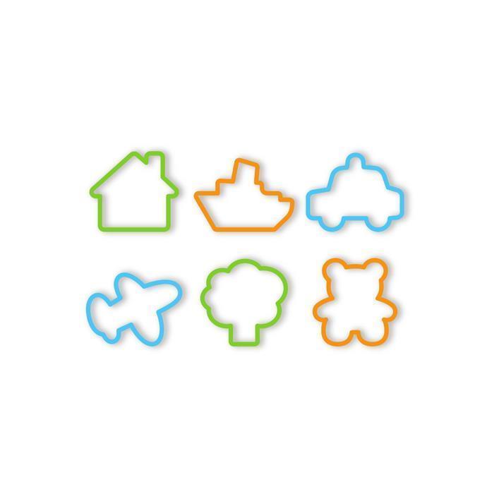 Набор форм Tescoma Delicia Kids 630921 (6 предметов)