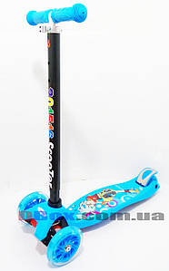 Maxi Scooter Cartoon Blue Ninja до 70 кг 4 колеса (2T1060)