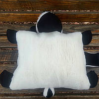 Барашек Шон игрушка подушка белого цвета