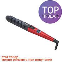 Плойка Saturn ST-HC7363 Red / прибор для ухода за волосами