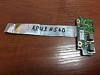 ASUS N56 плата USB