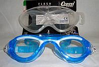 Очки для плавания голубые Cressi взрослые, фото 1