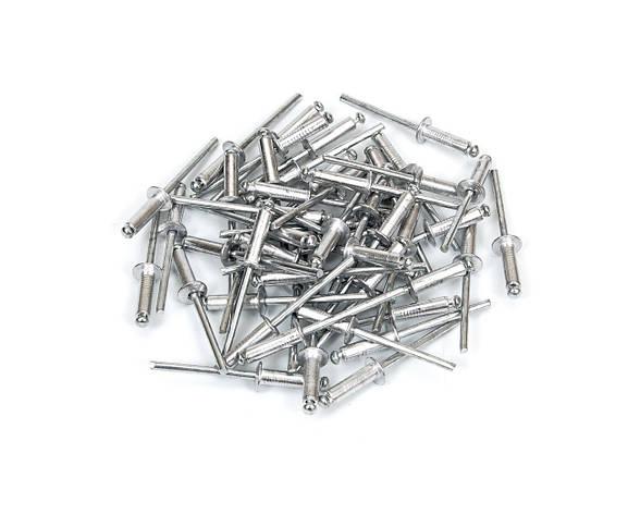 Алюминиевые заклепки 3,2 х  8 мм (50 шт.), фото 2