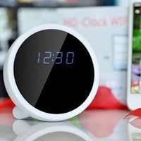 HD WiFi скрытая  камера - Часы будильник Трансляция онлайн