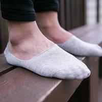 Подследники следы короткие носки  мужские следки лен
