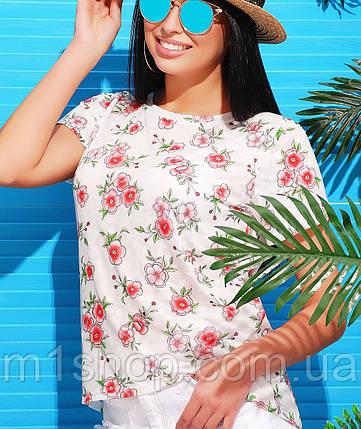 Красочная женская футболка (1728 mrs), фото 2