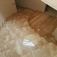 Лестница из натурального камня Daino Reale ВС (Подступенок) 20 мм