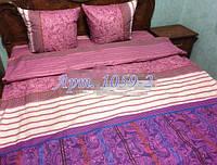 Комплект постельного БЯЗЬ оптом и в розницу, Восточные мотивы сирень 1059-2