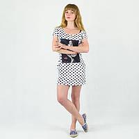 Платье туника на лето с принтом Монро