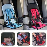 Бескаркасное детское автокресло Child car cushion - кресло безопасности, фото 1