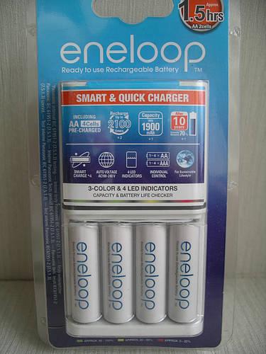 Panasonic Eneloop BQ-CC55E Smart & Quick Charger