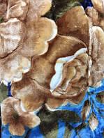 Стриженный полуторный плед 150x220 см.