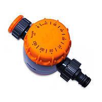 Поливочный таймер 202, механический, 10-120 минут, резьба 1 и 3/4 дюйма, пластик